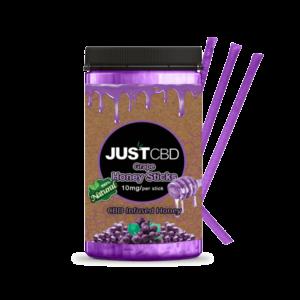 Just CBD Infused Honey Stick Grape
