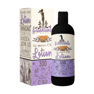 Essentials Full Spectrum CBD Lotion Lavender
