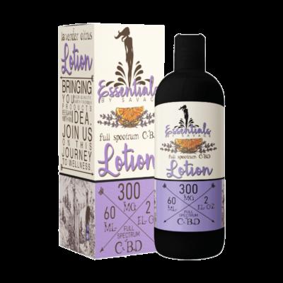 Essentials Full Spectrum CBD Lotion Lavender