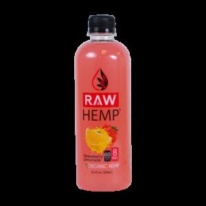 Organic Hemp Raw Hemp Strawberry Lemonade