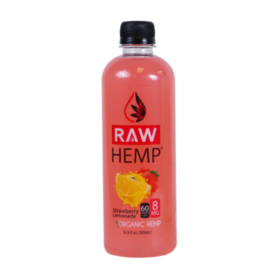 Organic Hemp Raw Hemp Strawberry Lemonade