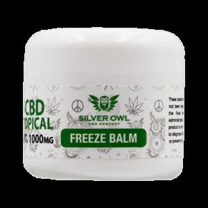 Silver Owl CBD Topical Freeze Balm