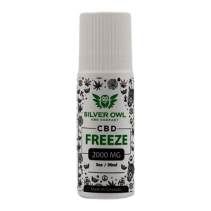 Silver Owl CBD Freeze