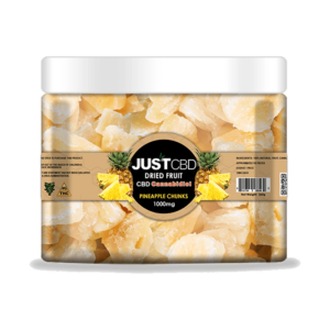 Just CBD Dried Fruit Pineapple Chunks