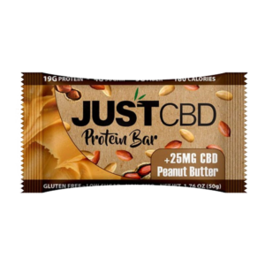 Just CBD Protein Bar Peanut Butter