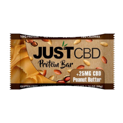 Just CBD Protein Bar Peanut Butter