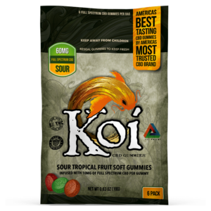 Koi Sour Fruit Soft Gummies