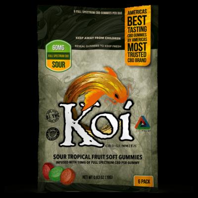 Koi Sour Fruit Soft Gummies