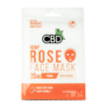 CBDFX Hemp Rose Face Mask