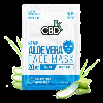 CBDFX Hemp Aloe Vera Face Mask