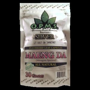 O.P.M.S. Maeng Da Kratom Silver