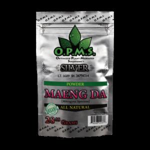 OPMS Kratom Powder Maeng Da Silver