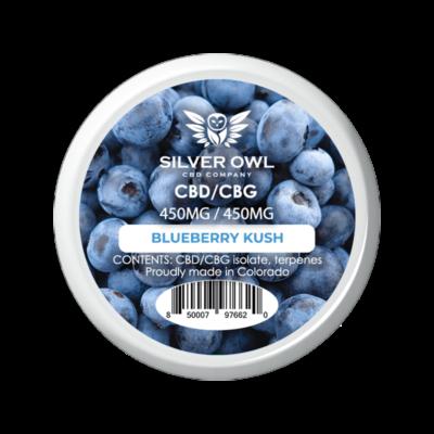 Silver Owl CBD/CBG Crystals Blueberry kush