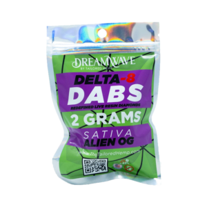 DreamWave Delta 8 Dabs 2 Grams