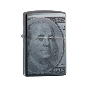 Zippo Lighter 49025 Currency Design